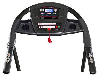 Smooth 5.65 treadmill console