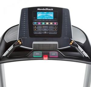 Nordic Track C900 treadmill console
