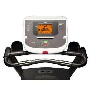 precor treadmill console