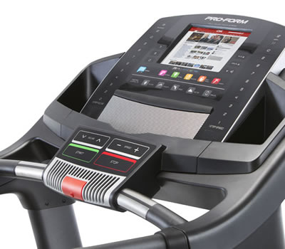 Proform performance 1450 treadmill console