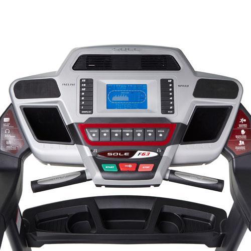 Sole F63 Treadmill Console