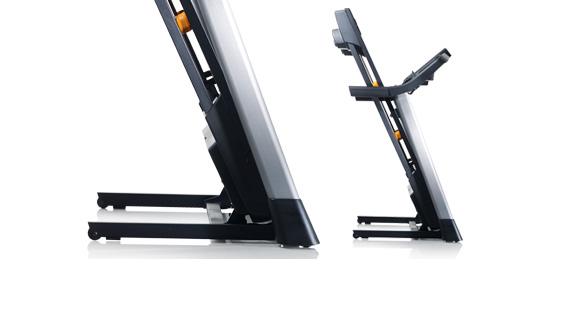 nordic track 600 treadmill folded
