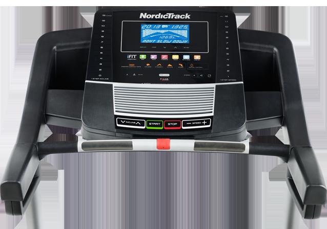 nordictrack C600 treadmill console
