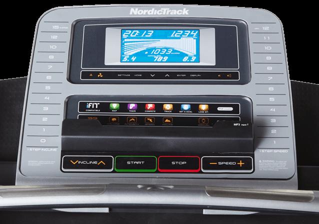 nordic track 970 console