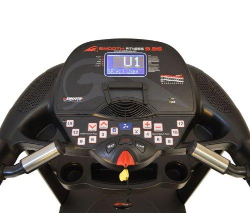 smooth 9.35 treadmill console