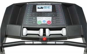 golds gym 410 trainer console