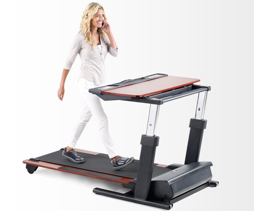 Nordic Track Desk Treadmill