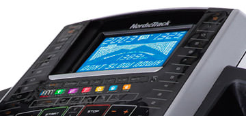 nordictrack X7i review console