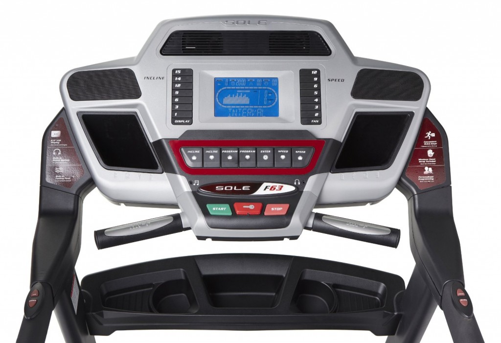 sole f63 treadmill console 2014