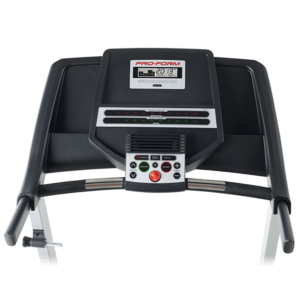 Proform 300 Treadmill Review Console