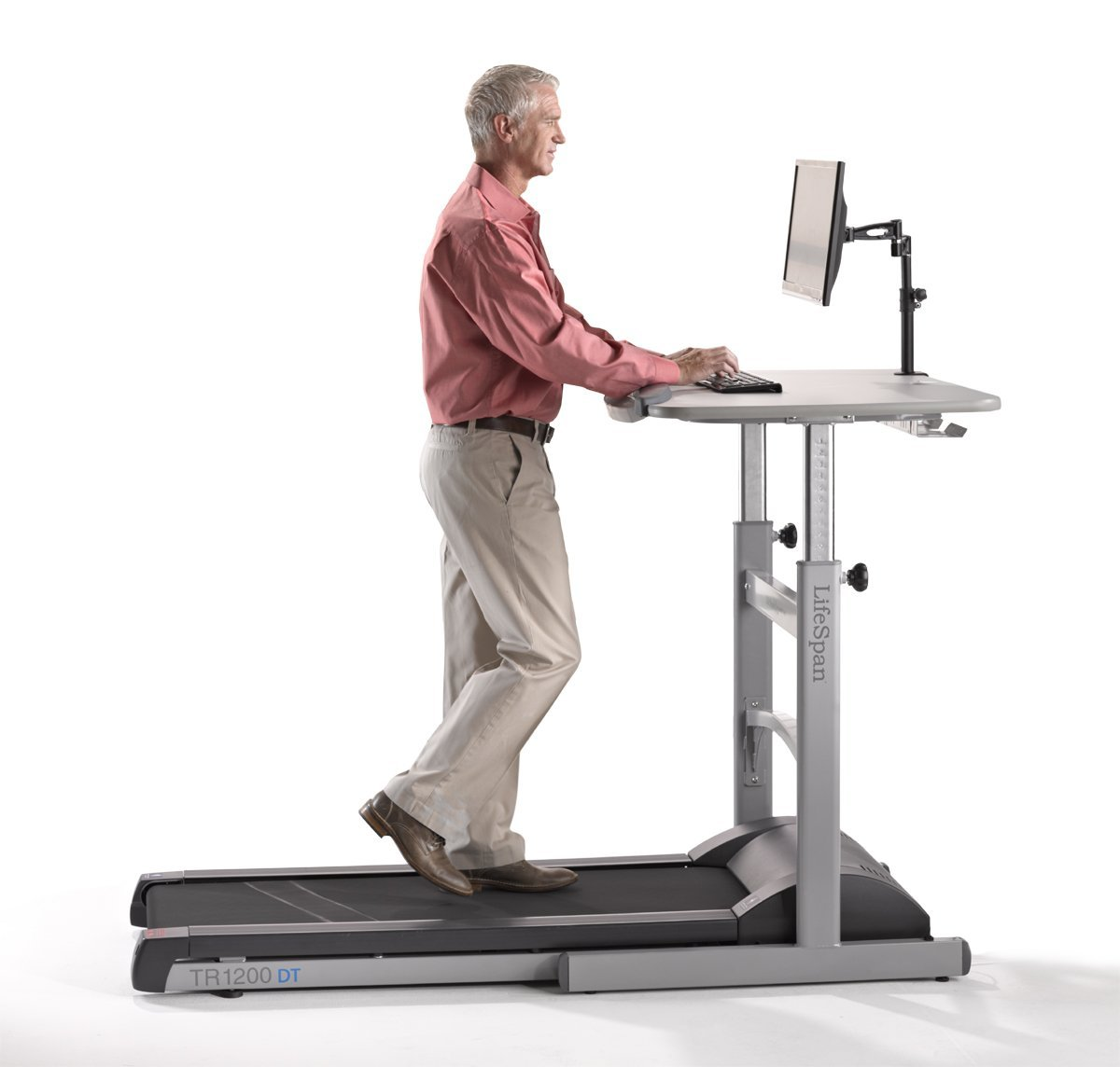 treadmill with desk