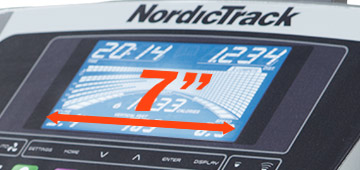 nordictrack C990 console
