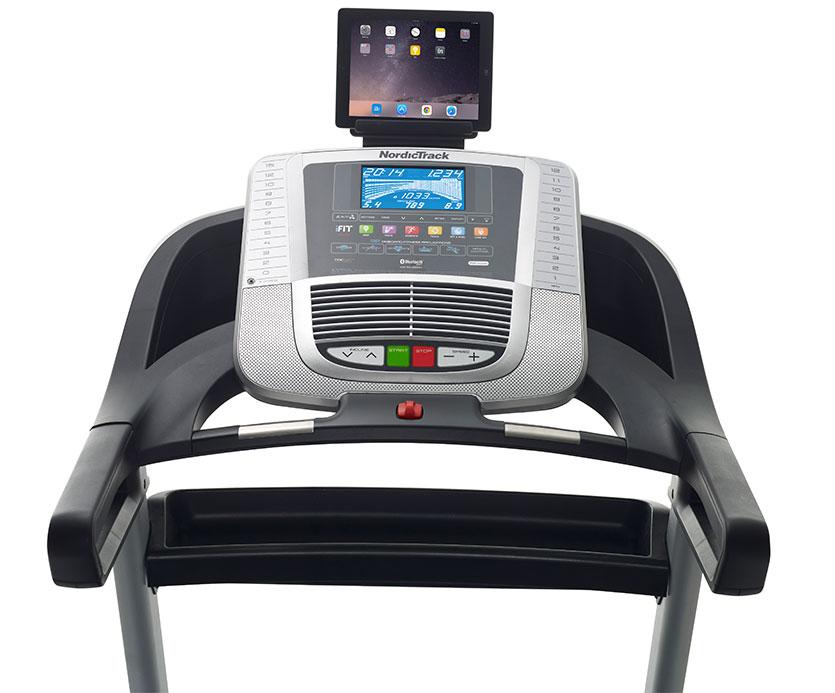 nordictrack C 990 treadmill console