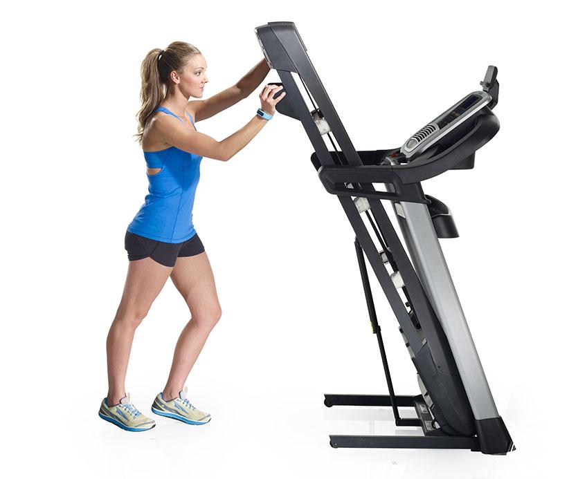 nordictrack C990 treadmill folded