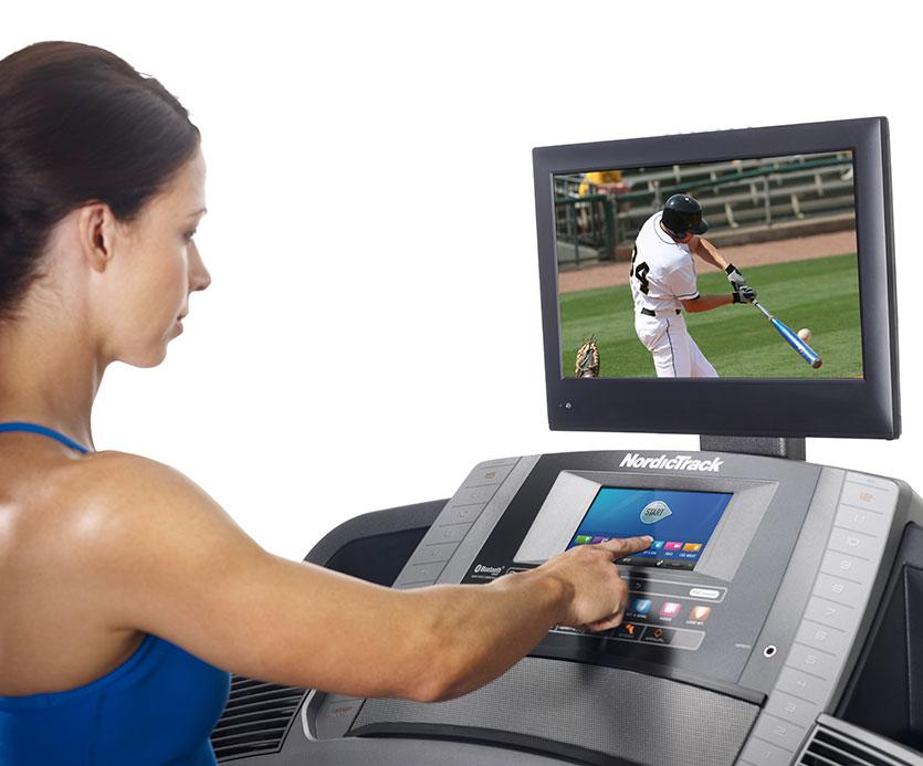 nordictrack 2450 Commercial treadmill console