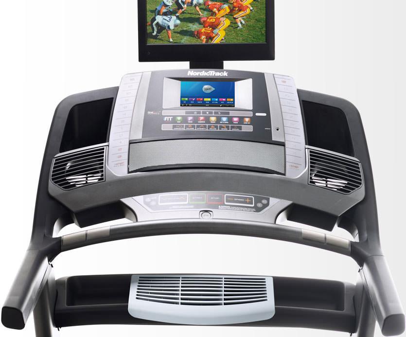 nordictrack commercial 2450 treadmill console
