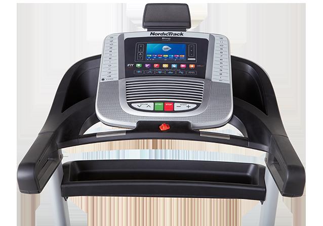 nordictrack C 1650 treadmill console