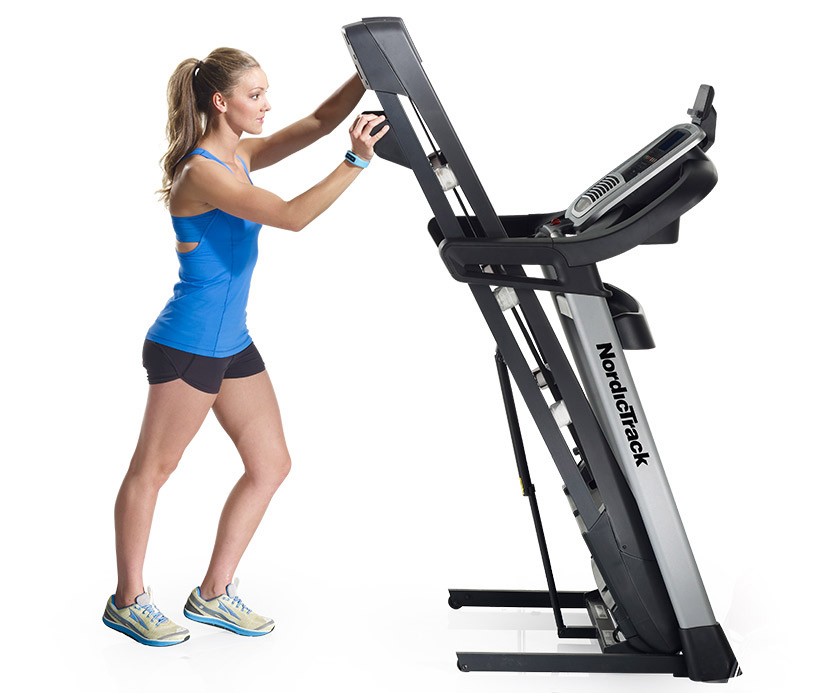 Nordictrack C 1650 Treadmill Folded