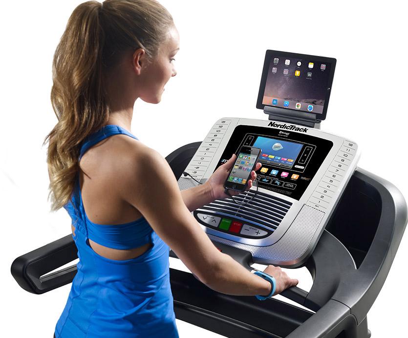 nordictrack 1650 Treadmill Console