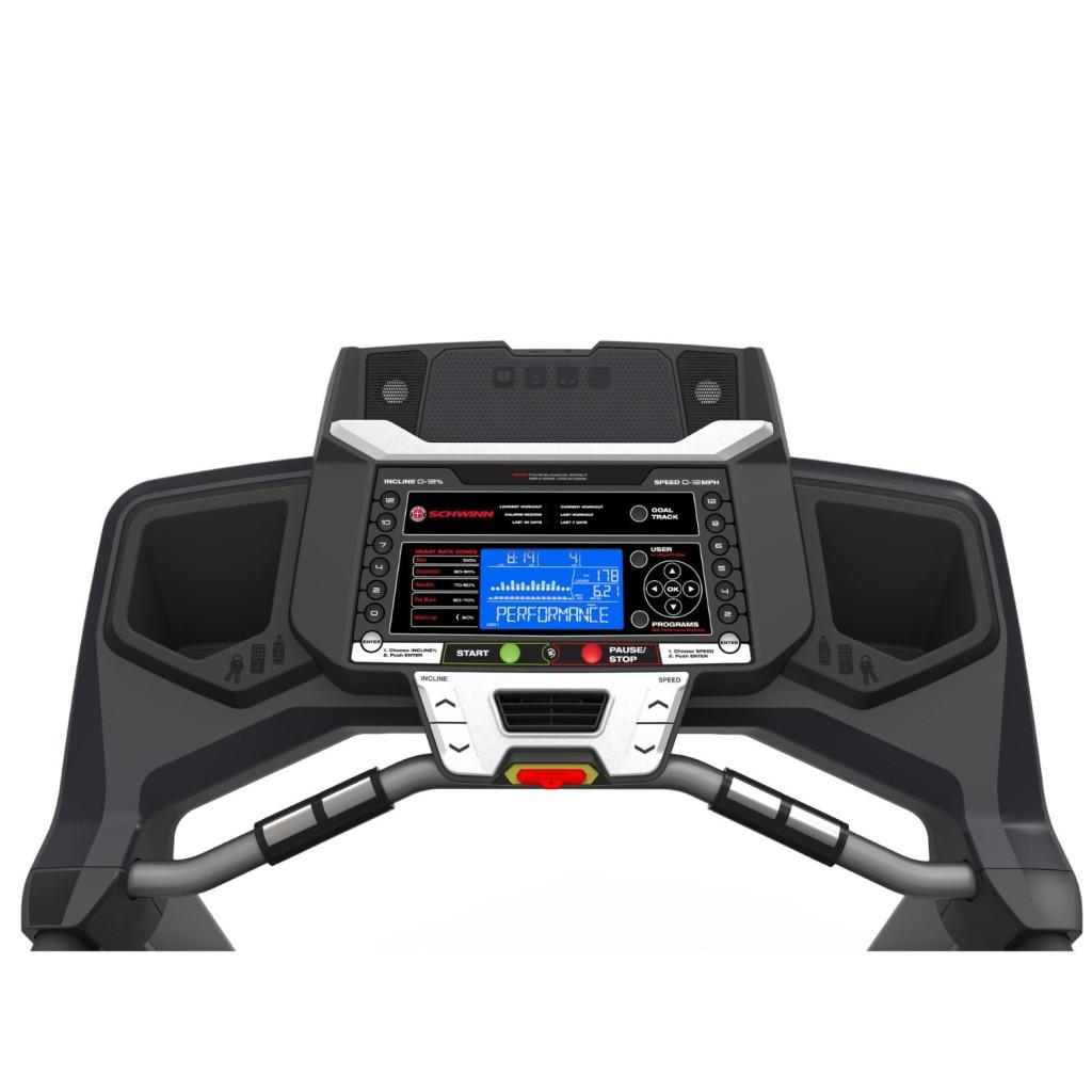 schwinn 830 TREADMILL console