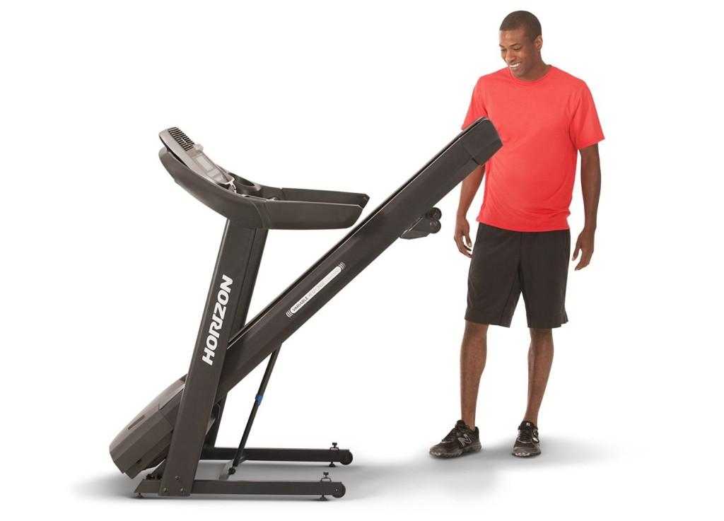 horizon fitness adventure 3 folding treadmill