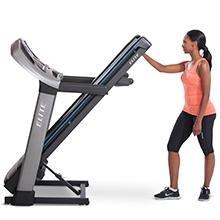 Horizon Elite T9 folding treadmill