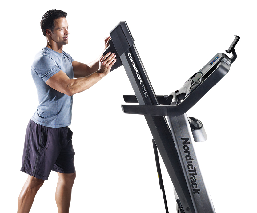 nordictrack 1750 folding treadmill