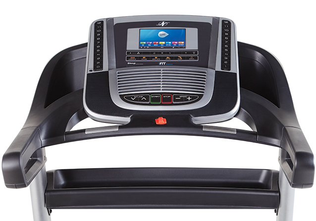 new nordictrack 990 treadmill console
