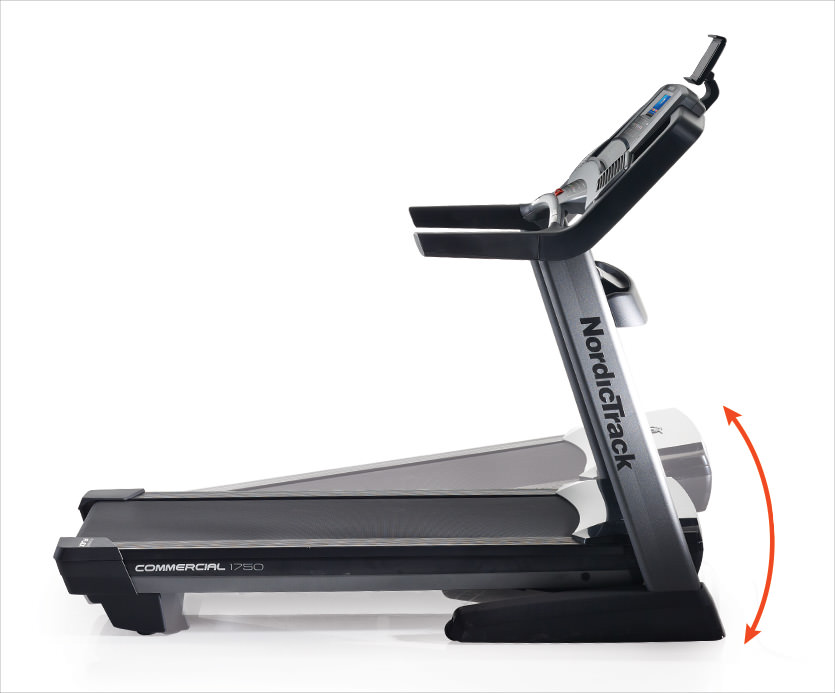 nordictrack commercial 1750 treadmil decline