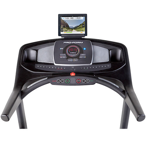 proform 400 treadmil console