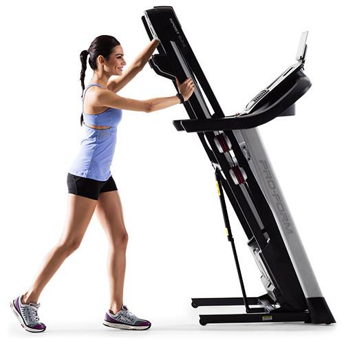 Sport 9.0 folding treadmill