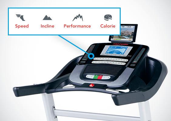 Proform Sport 9.0 treadmill console