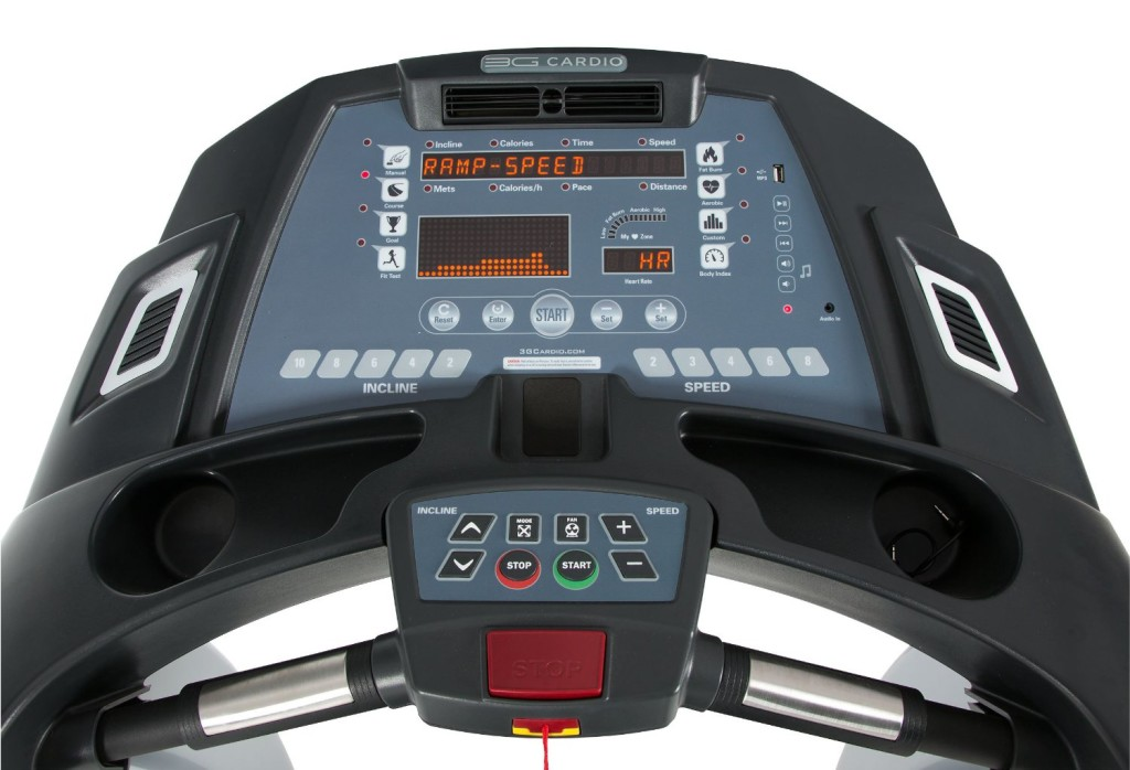 3g cardio elite runners teadmill review