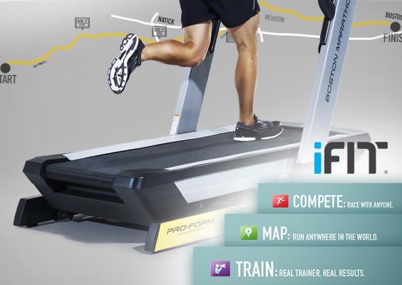 boston marathon treadmill 3.0 review - ifit live