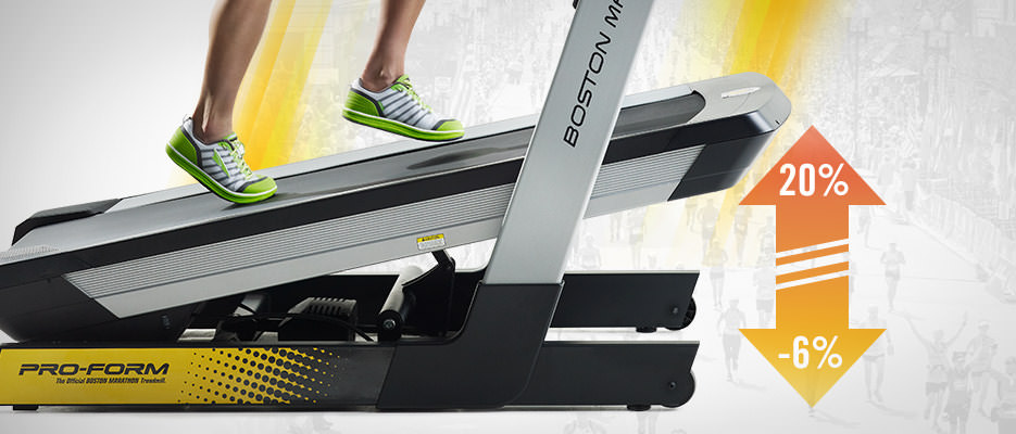 proform marathon treadmill 3.0 incline decline