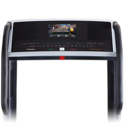 boston marathon 4.0 treadmill console