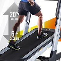 incline and decline on boston marathon trainer 4.0