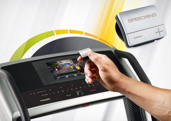 boston marathon 4.0 treadmill review - speed ring