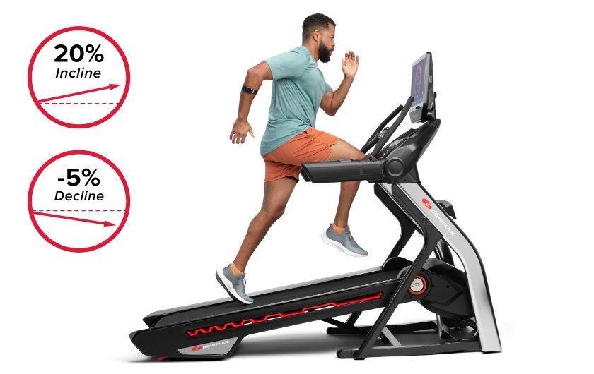 bowflex treadmill 22 incline and decline